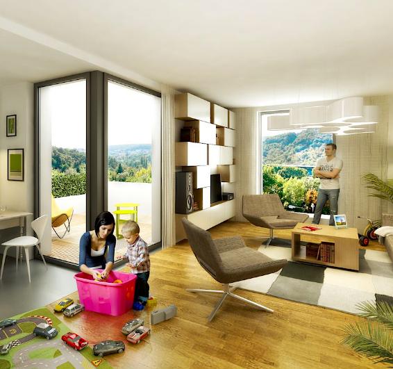 <b>Vizualizácia výhľadov zplánovaných bytov projektu Čerešne pre ITB Development a.s.</b>