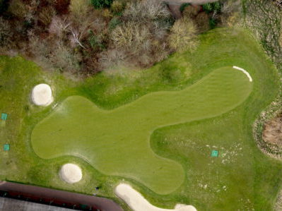 <b>Topographic aerial survey of the golf course for The Wisley Golf Club</b>