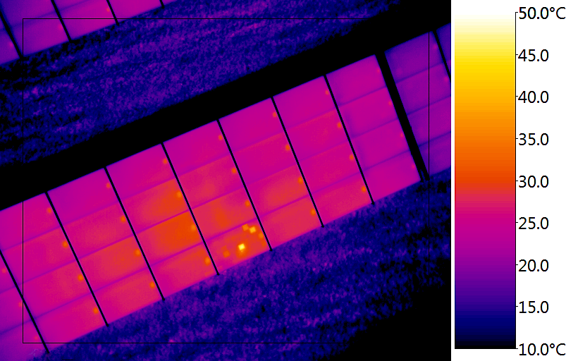 <b>Rooftop Thermographic survey for EnCome</b>